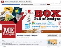 "BOX Full of Designs "" Cover Photo """