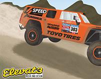 Robby Gordon's Dakar Race Hummer