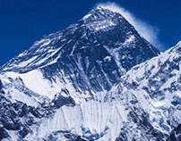 Mount Everest from Nepal