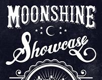 Moonshine Showcase - Branding and Business Card Design