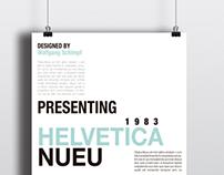 Helvetica Nueu