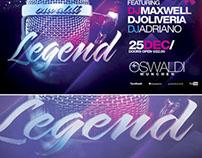 PSD Legend Flyer + Mixtape Cover