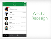 WeChat redesign for iOS 7