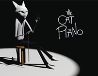The Cat Piano Model 3D