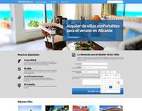 Landing Page  www.VillaElMar.es