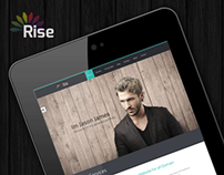 Rise | Responsive One Page Parallax Template