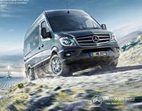 Mercedes Vans Sprinter Campaign 2013