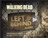 The Walking Dead - Left Behind personalised film