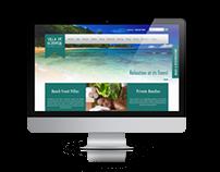 Villa De Bonheur - Web Design