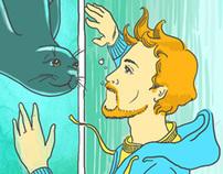 Поход в океанариум/Visiting aquarium
