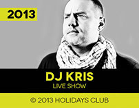 DJ Kris at Holidays Club, Orchowo // After Movie