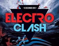 Electro Clash Flyer