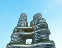 Sky Gardens Residential Twin Towers