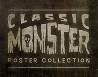 Classic Monster Posters