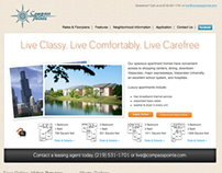 Compass Pointe Apartments Web Site