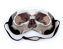 Sleep Forever Skull Sleep Mask