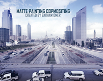 Matte Painting Compositing
