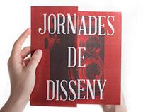 Jornades de Disseny - Triptic