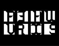 Zeta squared typeface