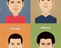 Family Cartoon Portraits