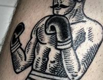 Boxe Tattoo