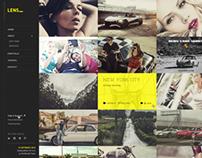 LENS - Photography WP Theme