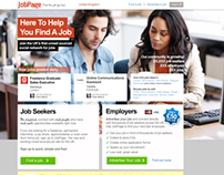 JobPage Homepage - Iteration 3