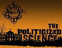 Infographic on politicized science of Global warming