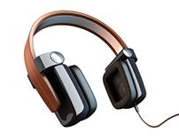 Wooden Band Headphones
