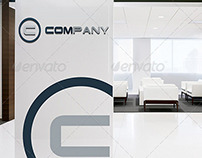 Office Interior - Logo Mock-up Set Vol.2