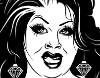 Nina West T-Shirt Design