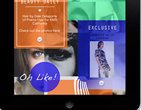 Oyster Magazine for Tablet