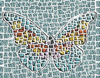 on a mosaical flight