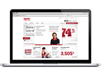 Flagstar Bank website redesign
