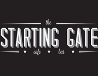 The Starting Gate Logo - University of Brighton SU