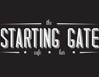 The Starting Gate Logo - University of Brighton SU