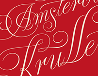 """De Amsterdamse Krulletter"" book cover"