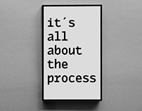 It's all about the process - Journal