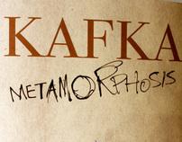 "Franz Kafka ""Metamorphosis"" Book Cover"