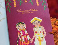 Ramya weds Ashwin