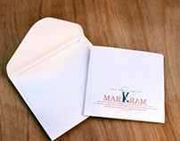 Mark & Mary Wedding Invitation