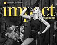 Impact Magazine cover ideas.