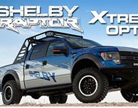 Shelby Raptor | Options Marketing Flyer