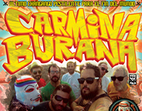 Carmina Burana gig posters
