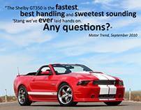 Shelby GT350 | Magazine Advertisement