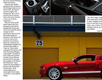 Shelby GT500 Super Snake | Marketing Trifold