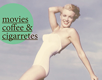 movies, coffees & cigarretes