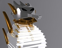 Musical Seahorse // 3D Project
