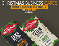 Hot Christmas Business Cards