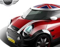 Mini Cooper redesign
